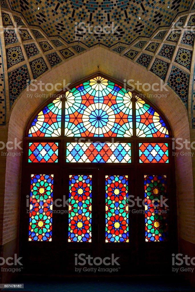 Iran, Mosque in Shiraz stock photo