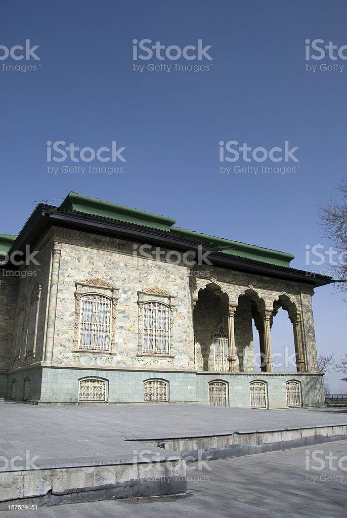 Iranian Palace stock photo