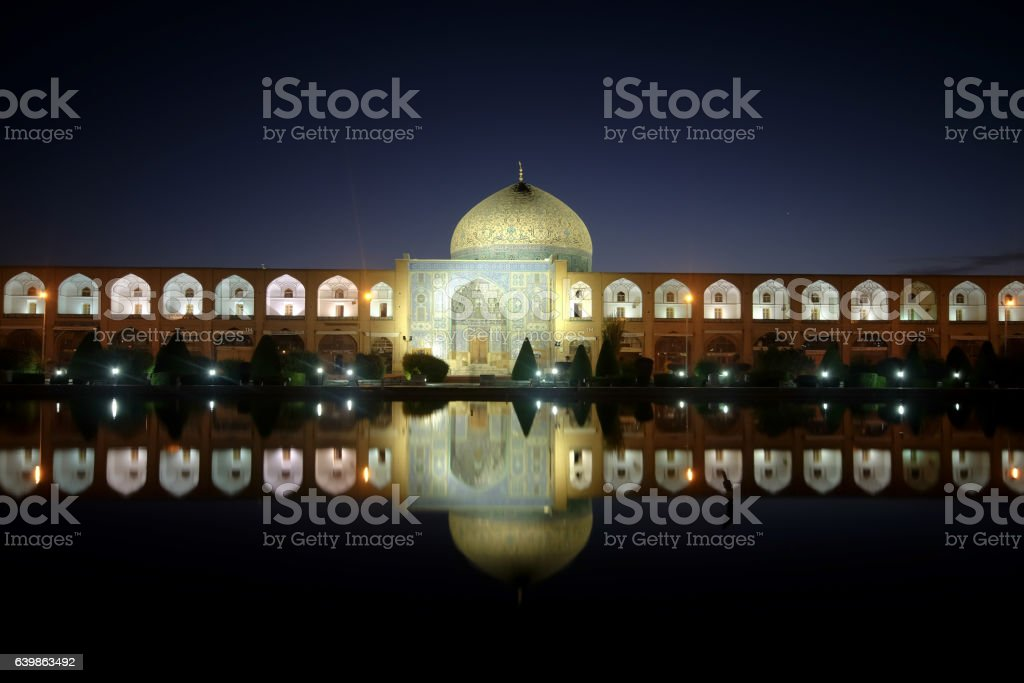 Iran's World Heritage, Imam Mosque, in Esfahan, Iran stock photo