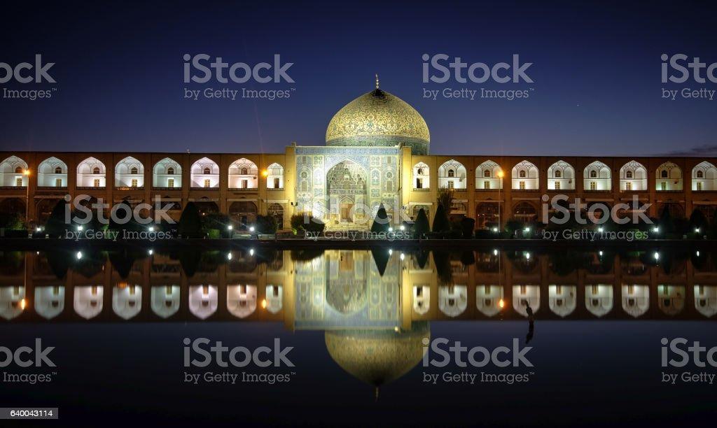 Iran's World Heritage, Imam Mosque, in Esfahan, Iran stock photo