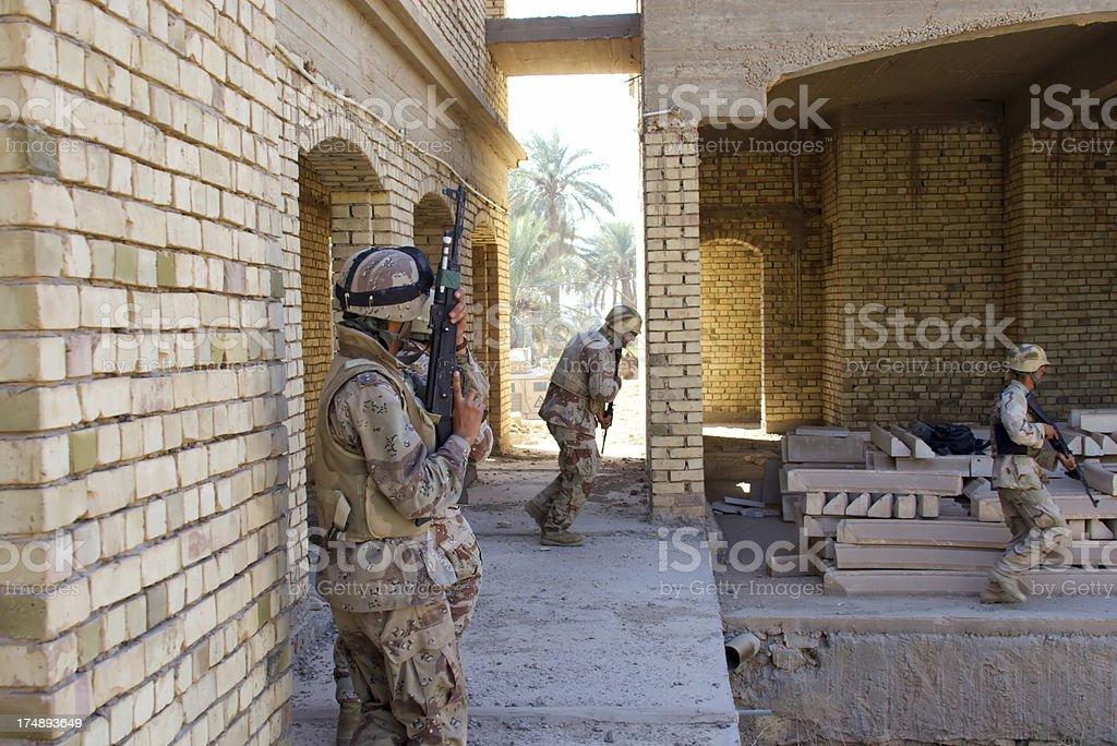 Iraqi Army royalty-free stock photo