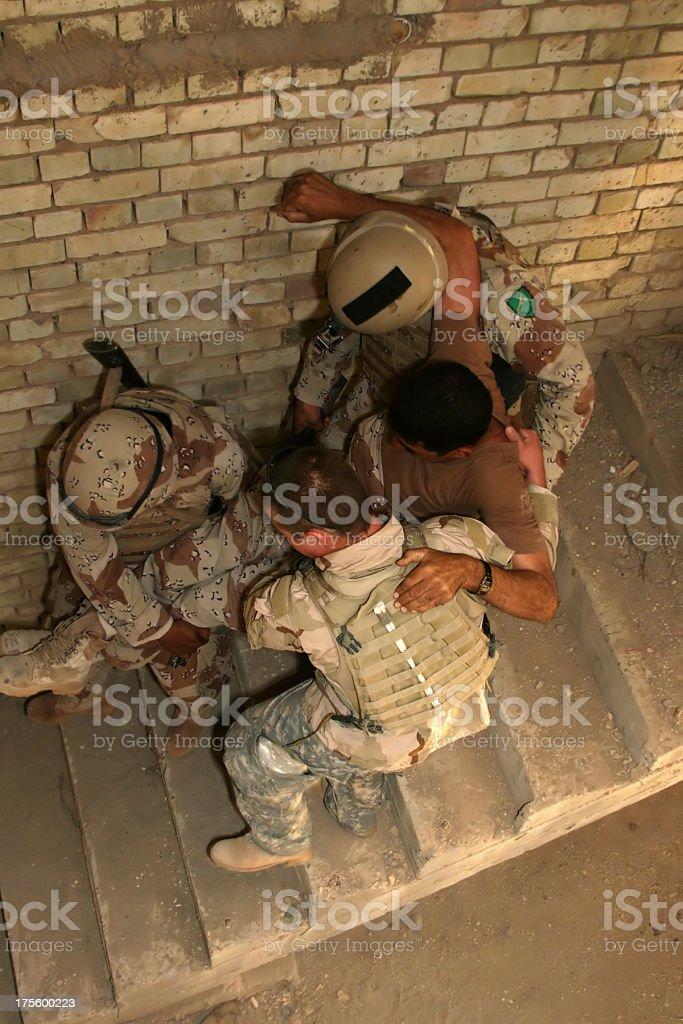 Iraqi Army stock photo