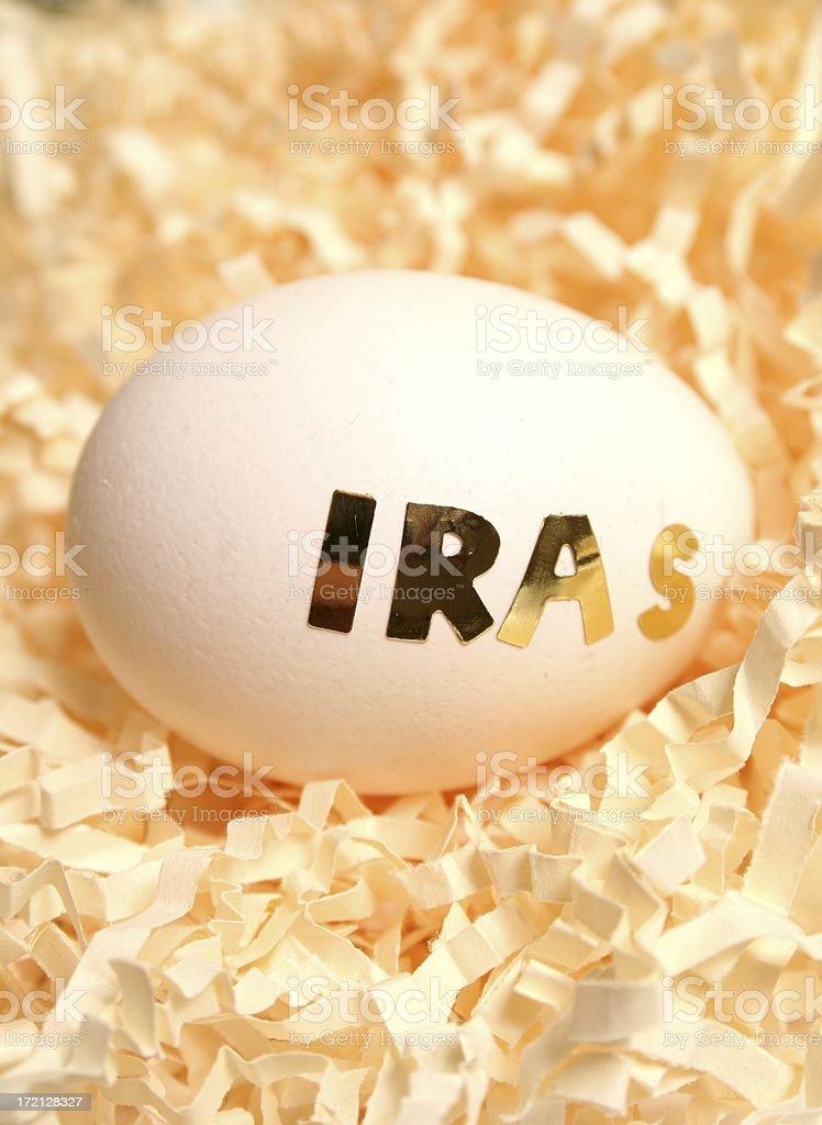 IRAs Egg royalty-free stock photo