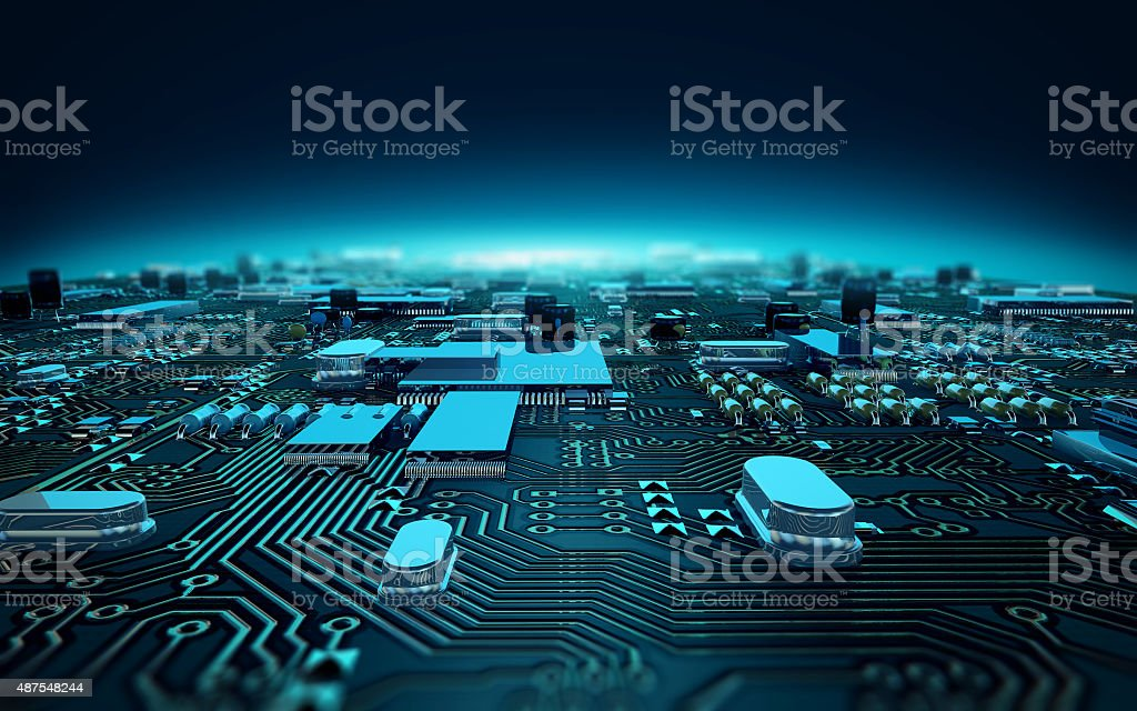 ircuit board stock photo