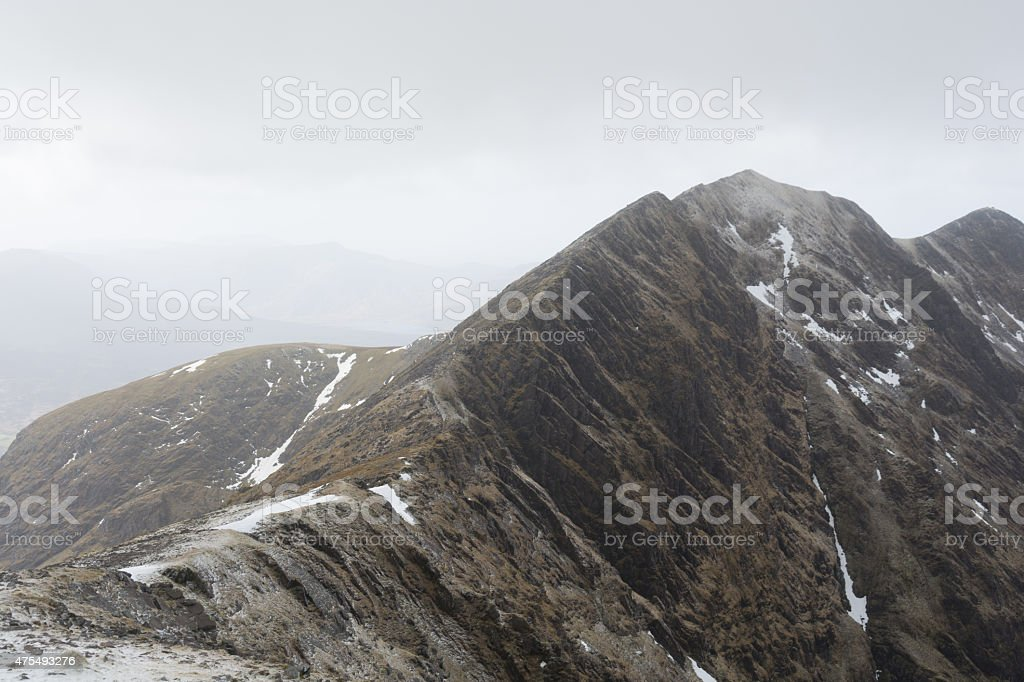Irland, Carrantuohill royalty-free stock photo