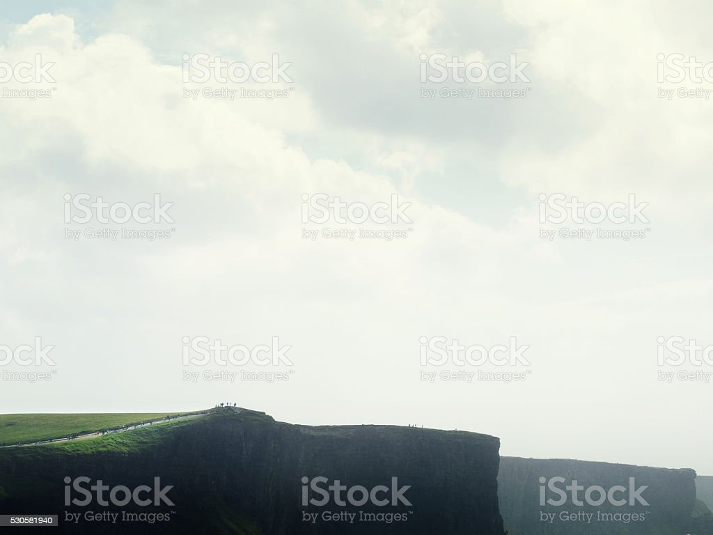 Ireland Cliffs of Moher stock photo