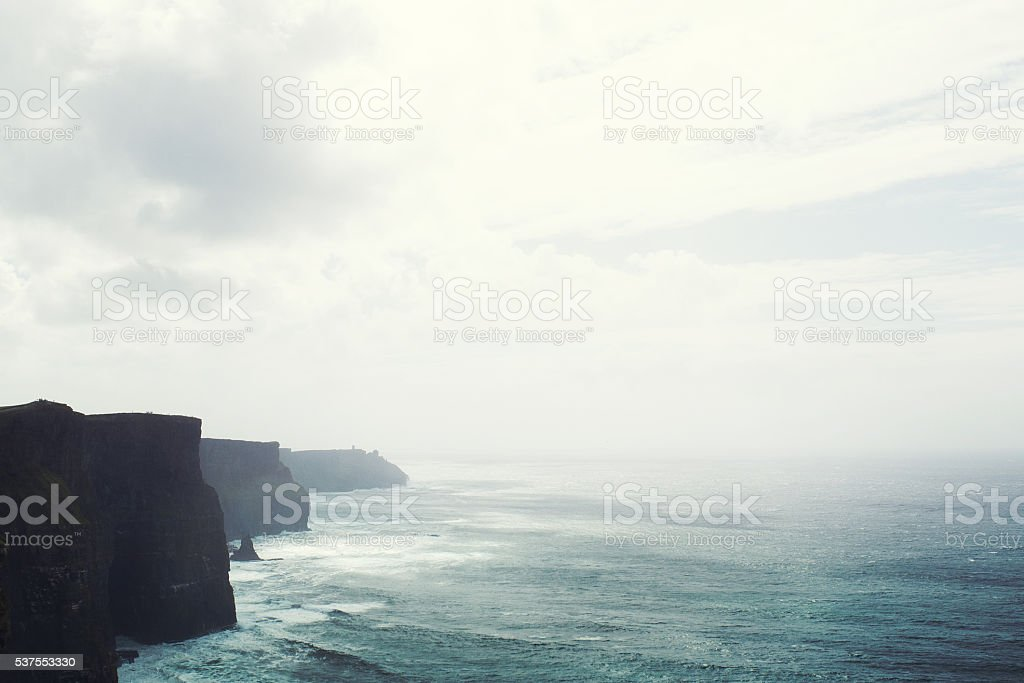 Ireland, cliffs of Moher stock photo