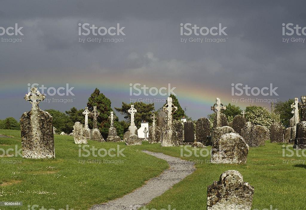 Ireland - Clonmacnois stock photo
