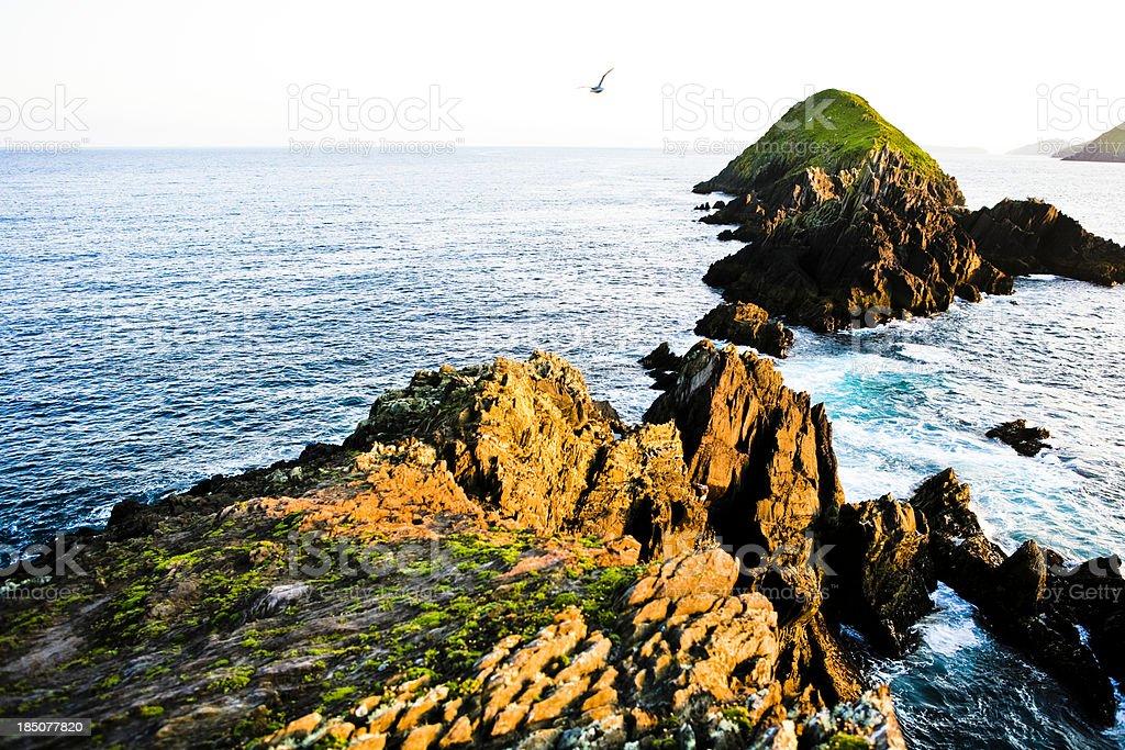 Ireland - Dunmore Head stock photo