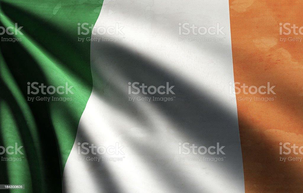 Ireland Flag royalty-free stock photo