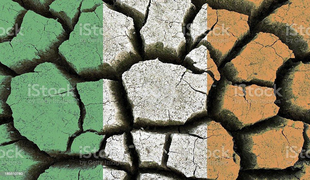 Ireland flag. royalty-free stock photo