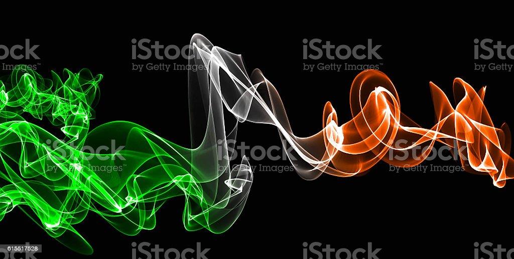 ireland smoke stock photo