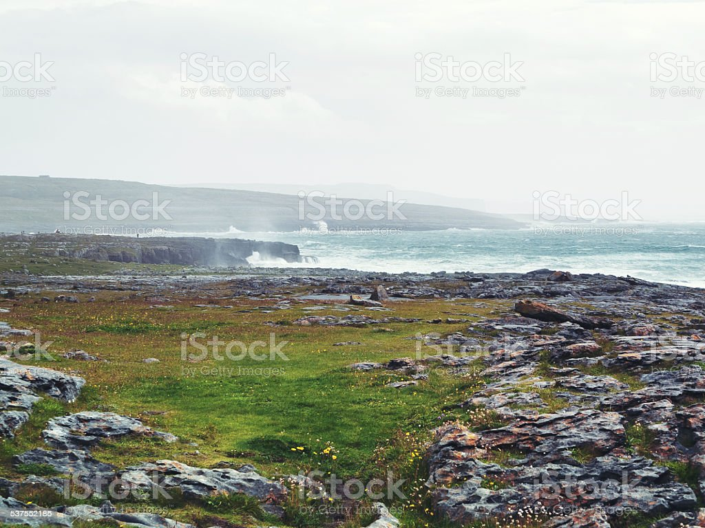 Ireland The Burren stock photo
