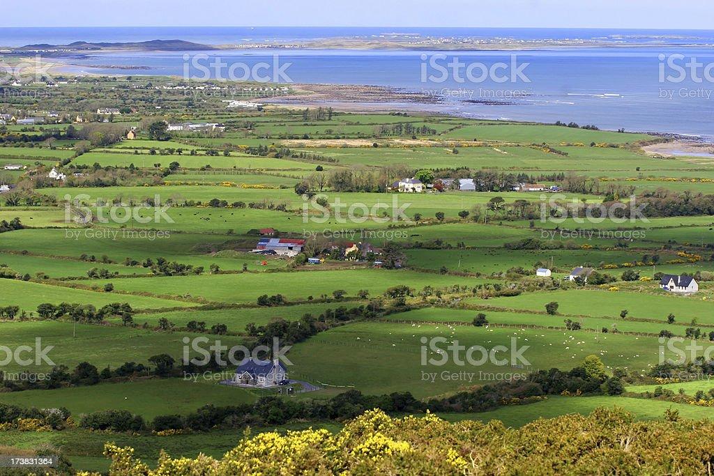 Ireland village royalty-free stock photo