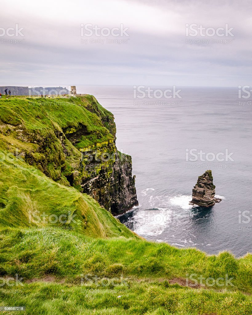 Ireland's Cliff of Moher stock photo