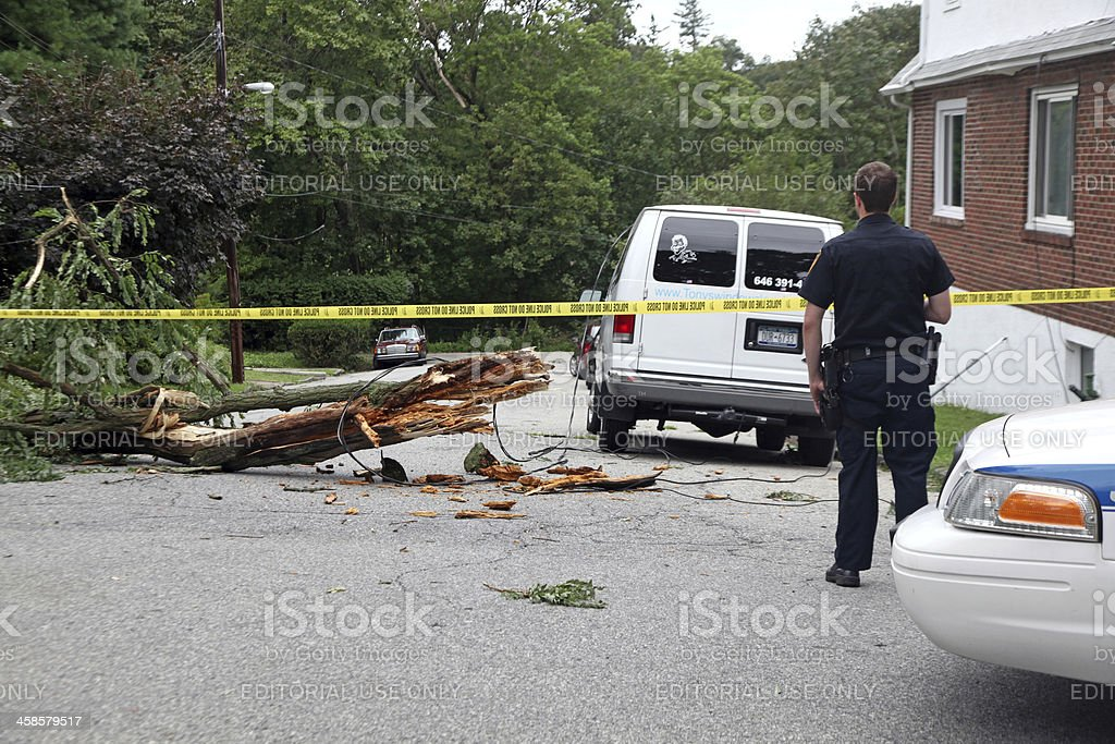 Irene Aftermath stock photo