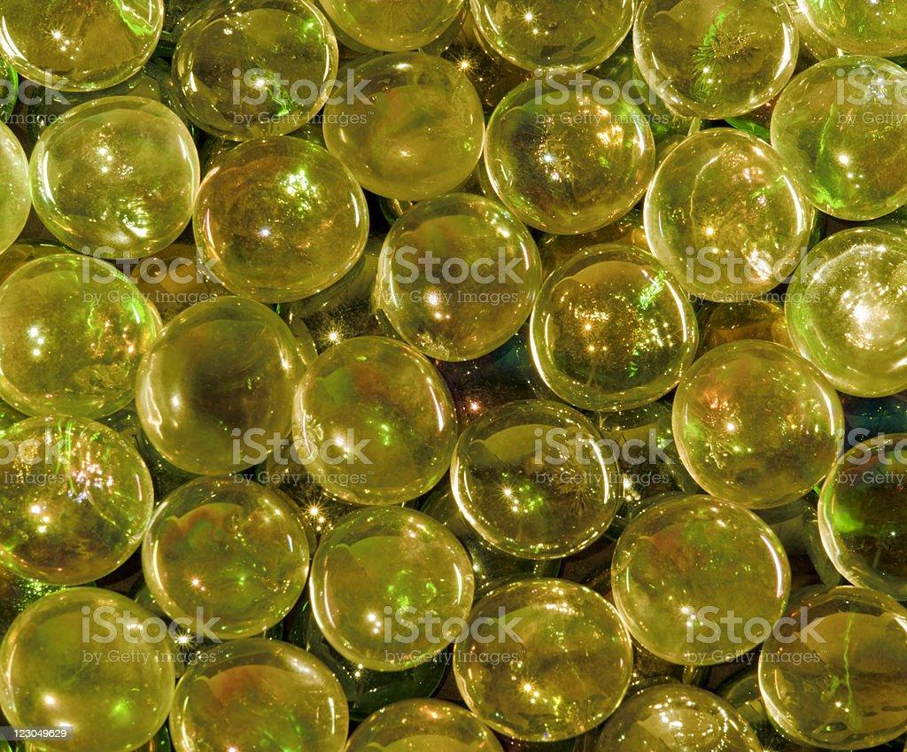 iridescent glass beads royalty-free stock photo