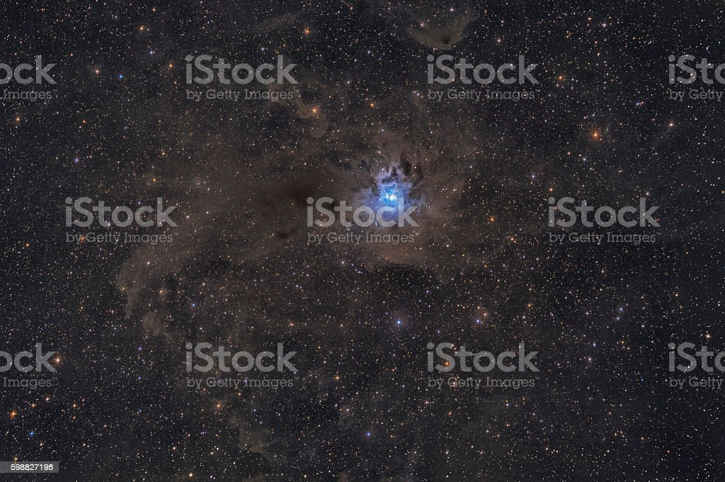 Iris Nebula stock photo