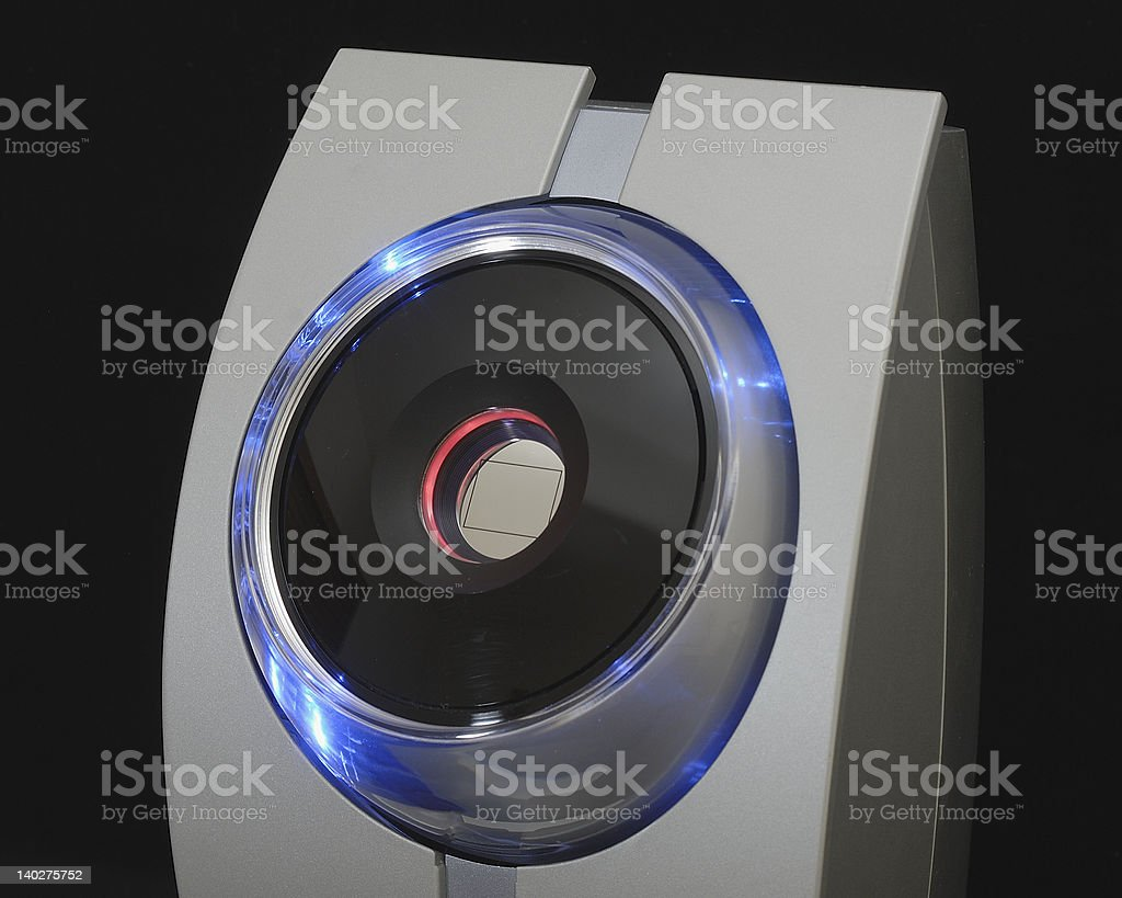 Iris Recognition II stock photo