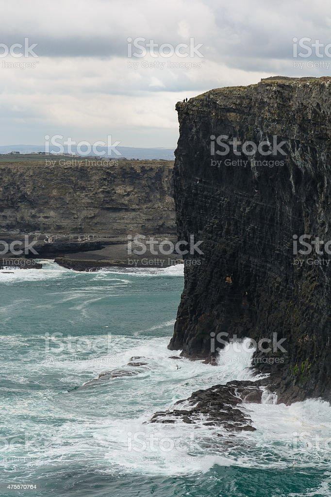 Irische Steilk?ste royalty-free stock photo