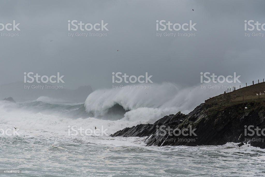 Irisches Wetter royalty-free stock photo