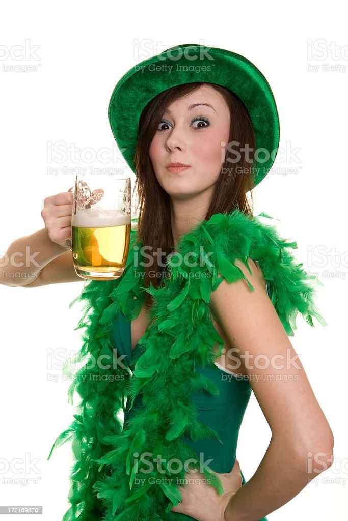 Irish and Proud royalty-free stock photo
