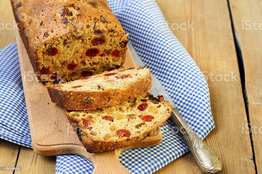 Irish barmbrack royalty-free stock photo