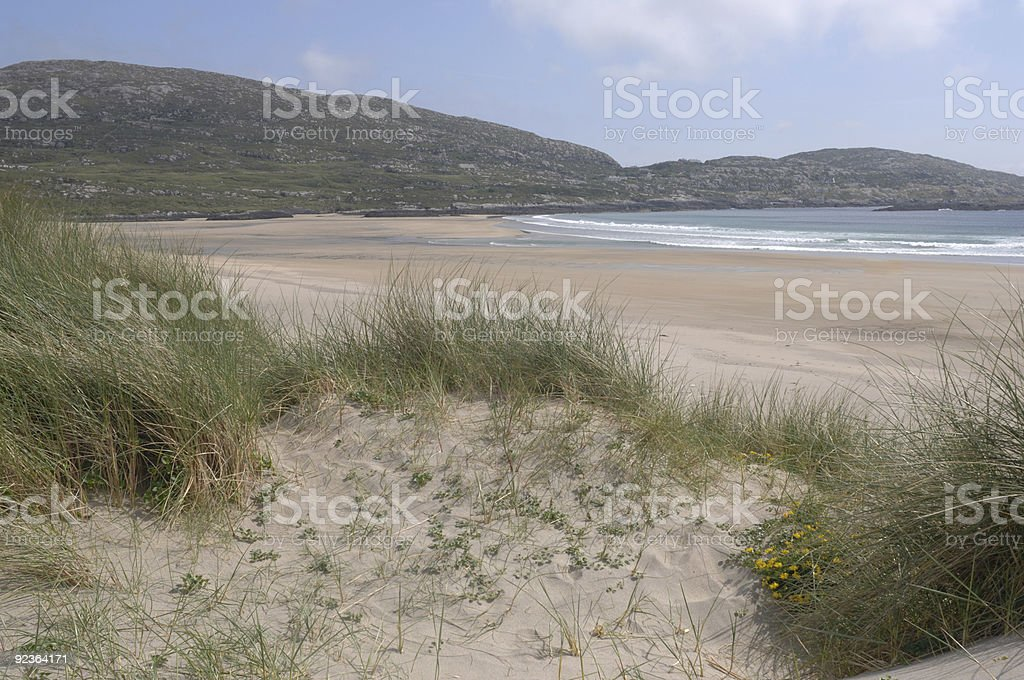 Irish Beach royalty-free stock photo