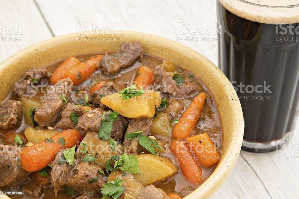 Irish Beef Stew stock photo