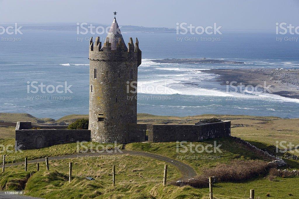 Irish Castle. royalty-free stock photo