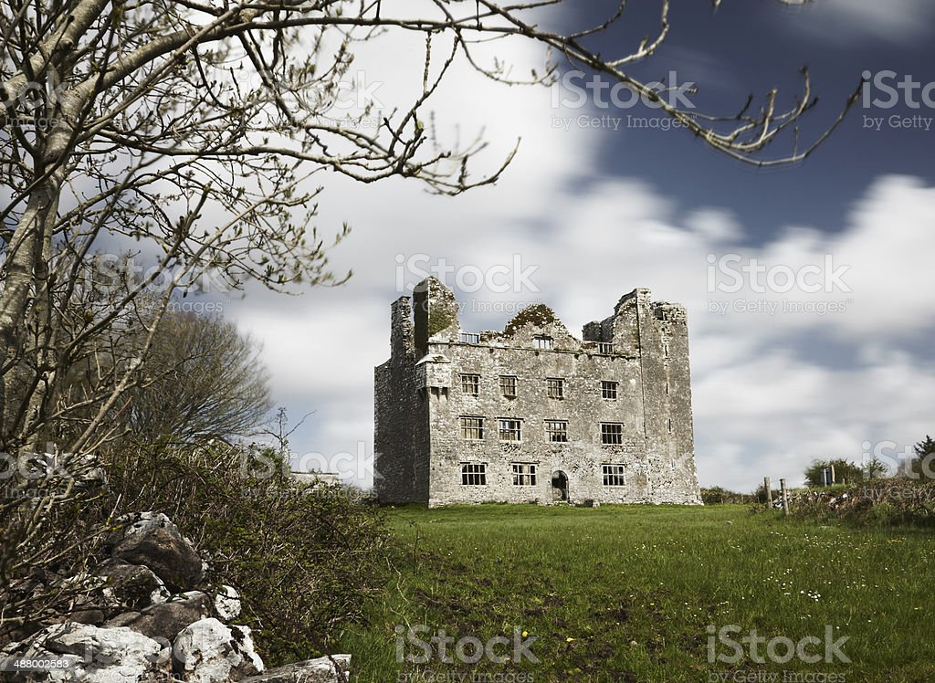 Irish Castle royalty-free stock photo