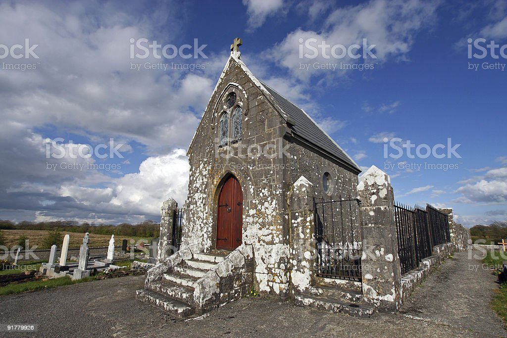 irish cemetery royalty-free stock photo