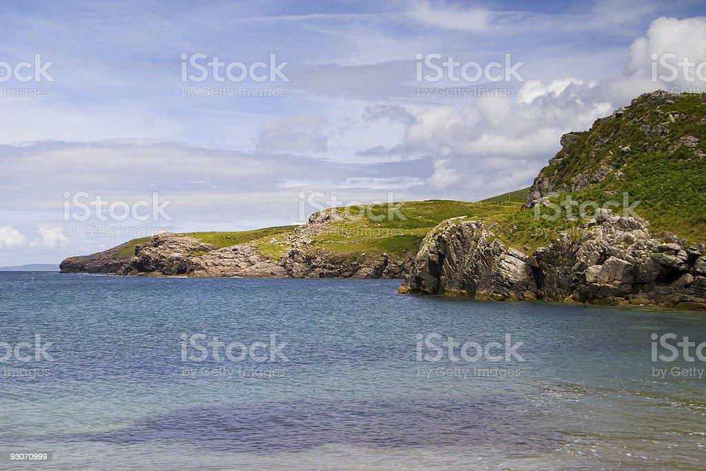 Irish cliffs royalty-free stock photo