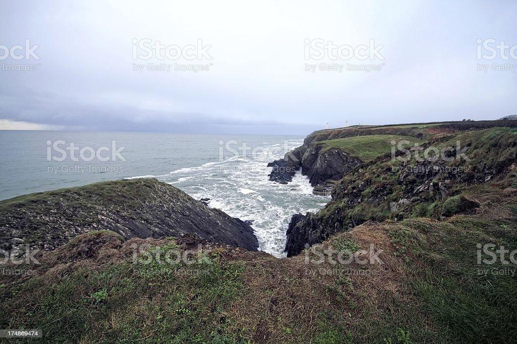 Irish coast royalty-free stock photo