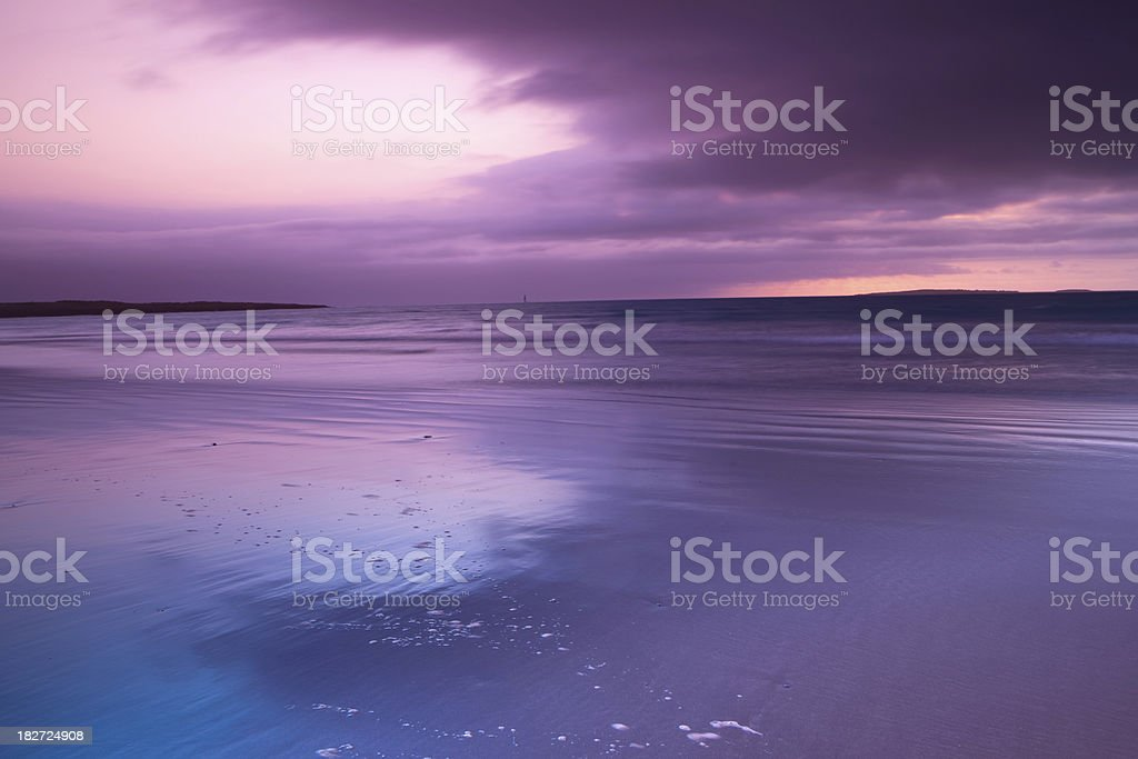 irish coastline royalty-free stock photo