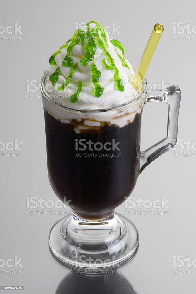 Irish Coffee Cocktail stock photo