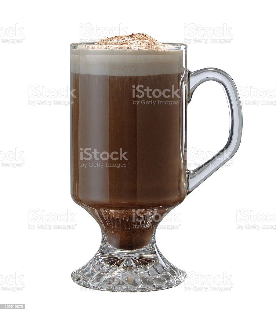 Café irlandés foto de stock libre de derechos