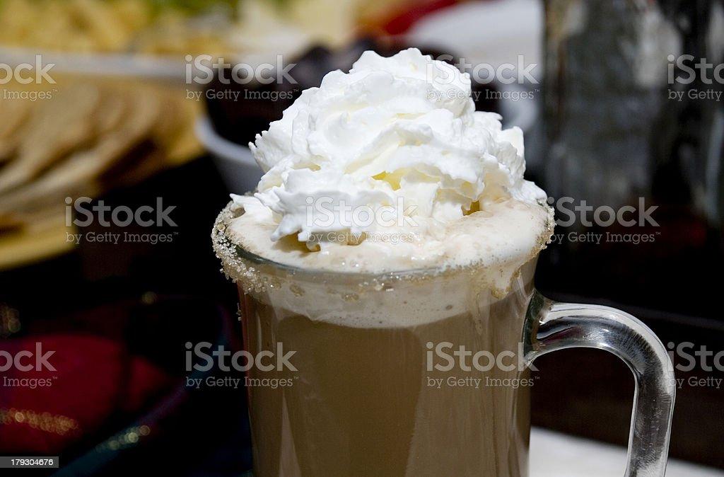 Irish Coffee royalty-free stock photo