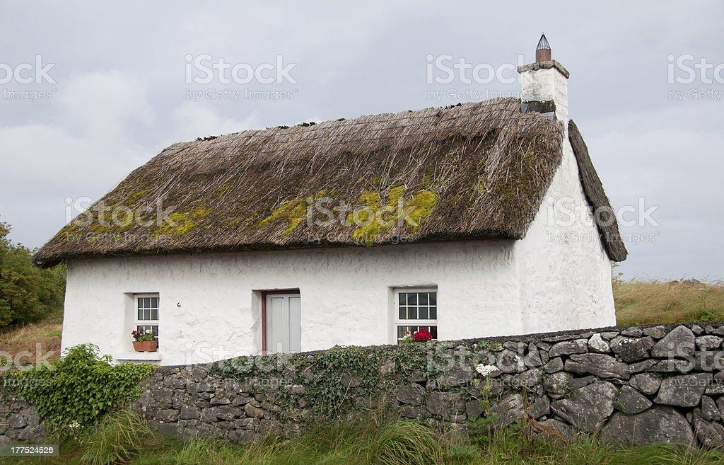 Irish Cottage stock photo
