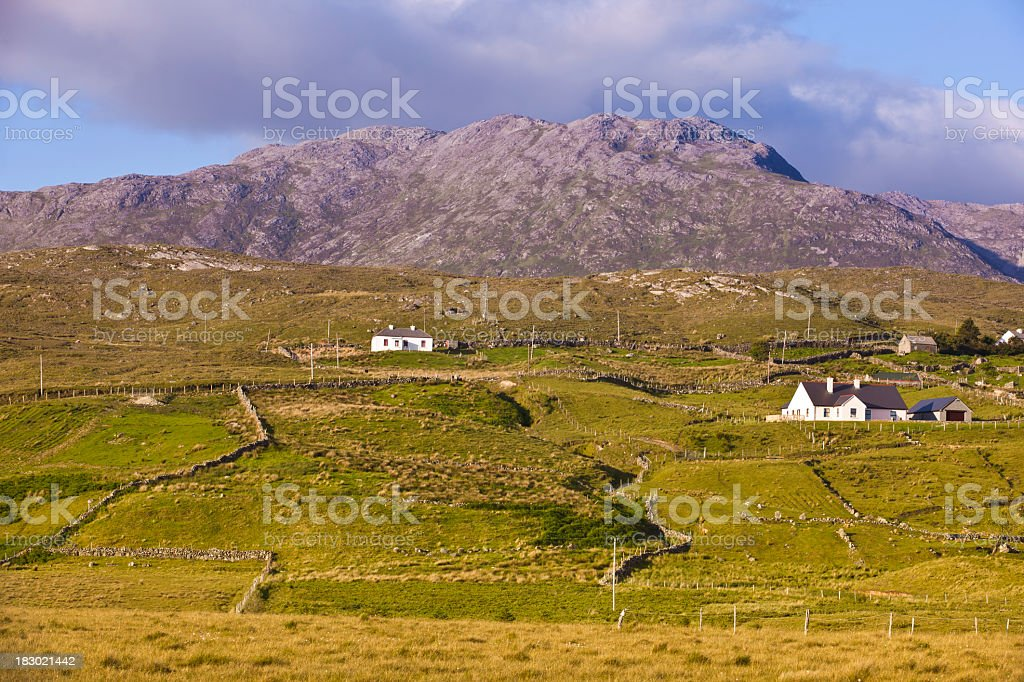 Irish country side royalty-free stock photo