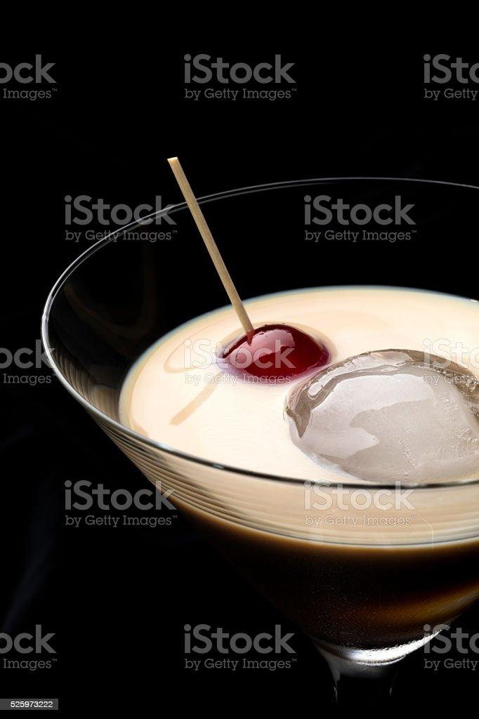 irish cream whiskey stock photo