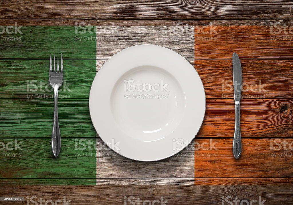 Irish Cuisine stock photo