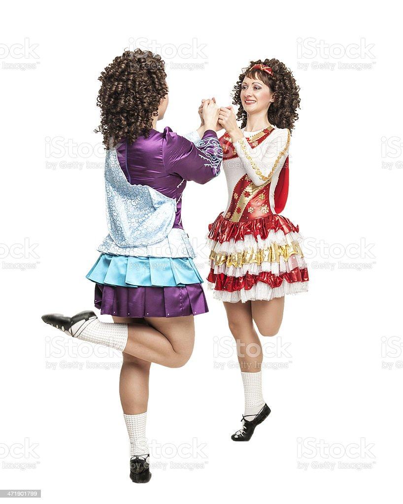 Irish dance stock photo