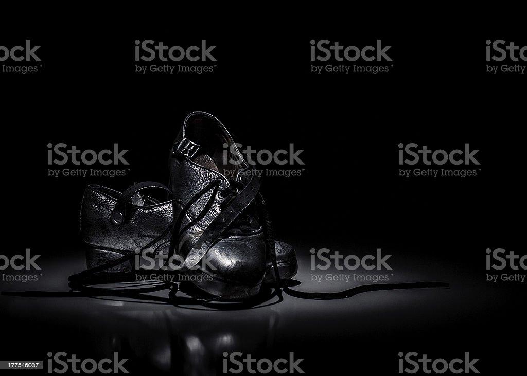 Irish Dance Shoes stock photo