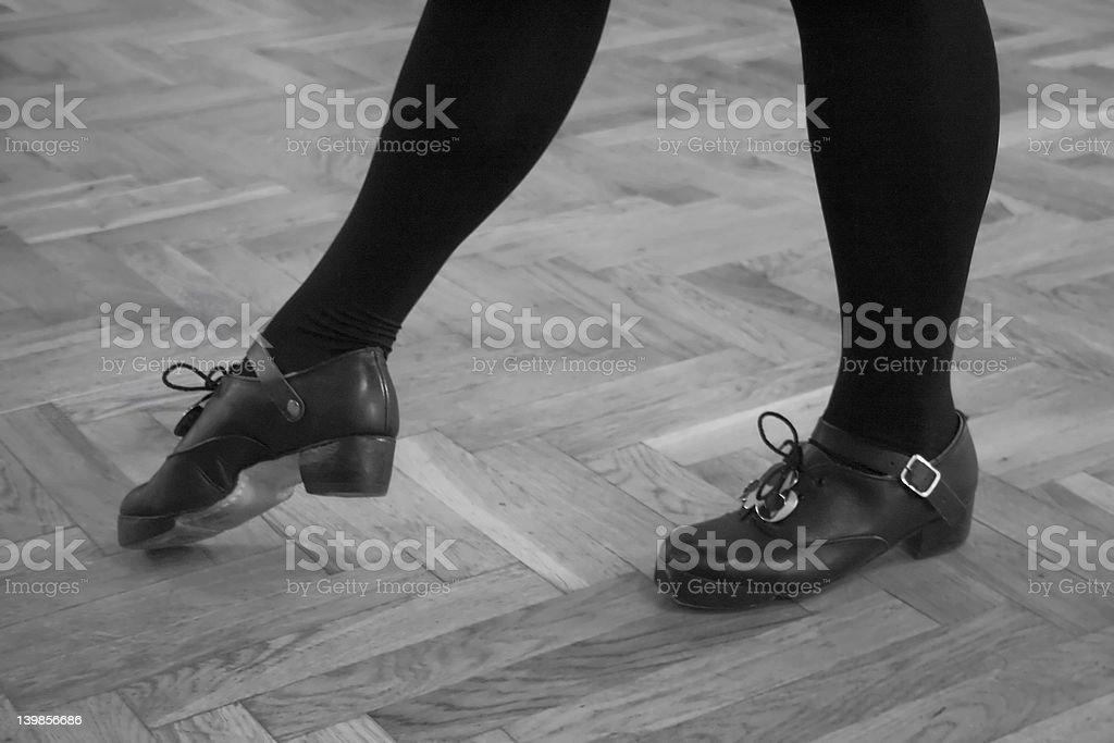 Irish dancer #1 stock photo