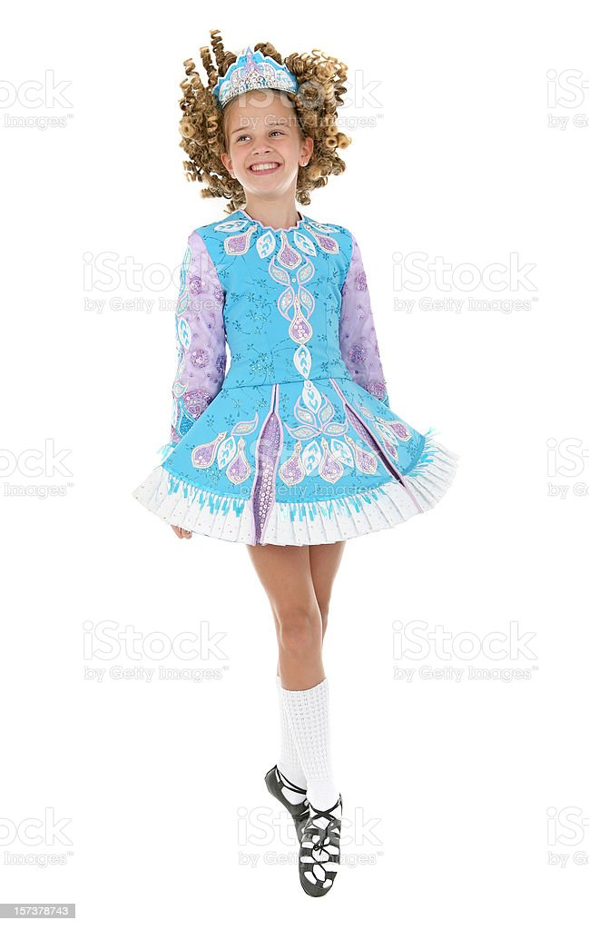 Irish Dancer royalty-free stock photo