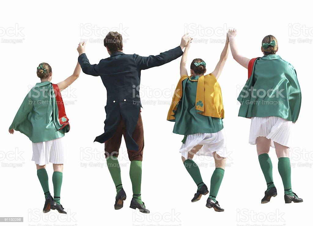Irish Dancers royalty-free stock photo