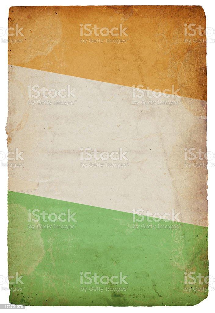 Irish Flag XXXL royalty-free stock photo