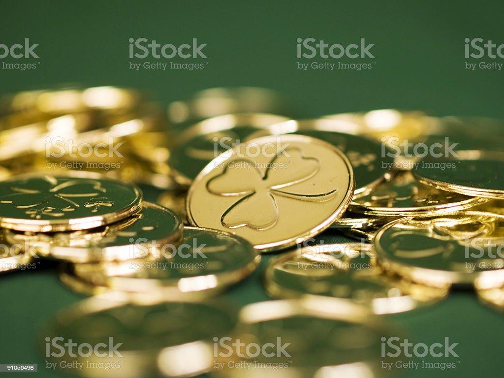 Irish Gold royalty-free stock photo