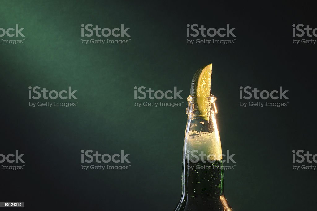 Irish Green Beer stock photo